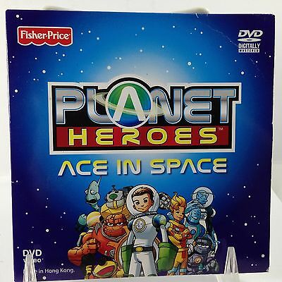 Planet Heros DVD Ace In Space Fisher Price