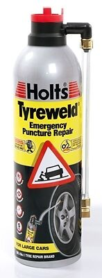 Tyreweld Emergency Puncture Repair - 500ml Holts HT4YA New