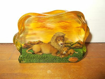 CHRISTIAN RIESE LASSEN Collection Lions #9838 Resin Giftware