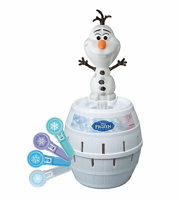 Tomy Pop-Up Olaf Frozen Game New Version Of Pop-Up Pirate 4+ Years 2-4 Players