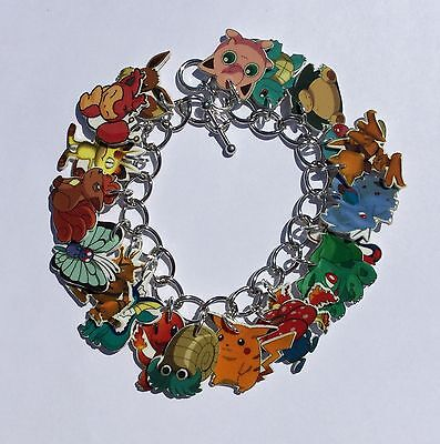 Pokemon Bracelet Pikachu Charms
