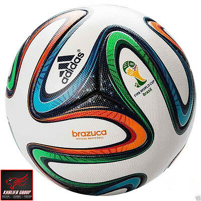 ADIDAS BRAZUCA SOCCER MATCH BALL | FIFA WORLD CUP 2014 REPLICA SIZE 5 Special