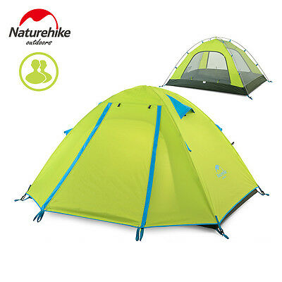 Naturehike Camping Dome Tent Ultralight Family Tent Waterproof for 2/3/4 Person
