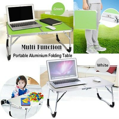 Foldable Laptop Desk Adjustable Notebook Computer iPad PC Stand Table Tray AU