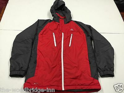 "DARE 2B SIZE 34"" CHEST (HEIGHT 176cm) RED / GREY GIRLS HOODED SKI JACKET 5W"