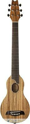 Washburn Rover RO10ZZ Travel Guitar Zebrawood Acoustic Travel Guitar (Zebrawood)