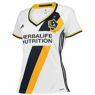 adidas Womens Ladies Football Soccer LA Galaxy Home Shirt 2016 Jersey