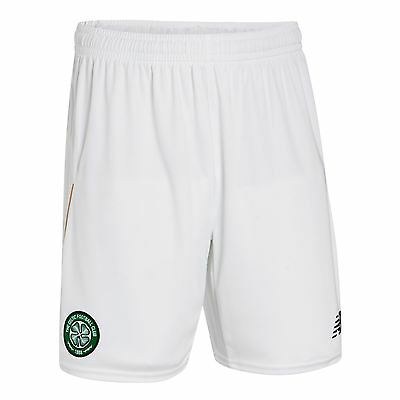 New Balance Mens Gents Football Soccer Celtic Home Shorts Bottoms 2016-17
