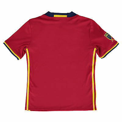 adidas Childrens Kids Football Soccer Real Salt Lake Home Shirt 2016 Jersey