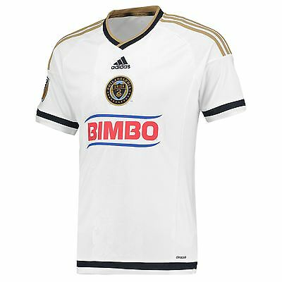 adidas Mens Gents Football Philadelphia Union Away Shirt 2015/16 Jersey