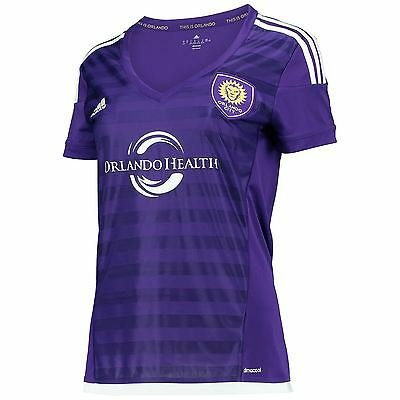 adidas Womens Ladies Football Soccer Orlando City SC Home Shirt 2015/2016
