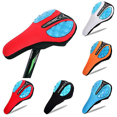 New Bicycle Saddle Cover Soft Silicone Mountain Bike Seat Cover Cushion Gel Pad