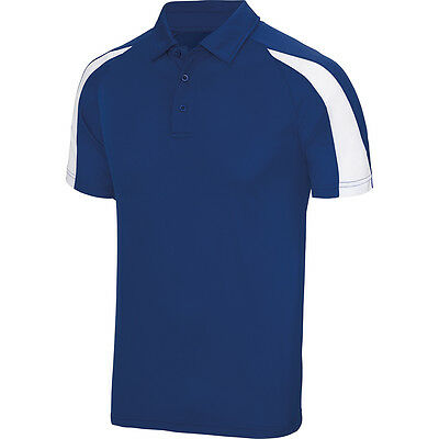 Designa Just Cool Darts Shirt - Royal Blue with White - Breathable- Small to 2XL