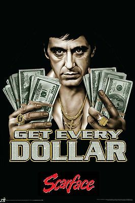 Classic Gangster Films Scarface Art Silk Poster Home Decor 24x36inch