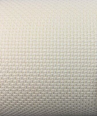 14ct - 14 count Ivory Aida Cloth - Cross Stitch 37cm X 50cm Or Cut To Your Size