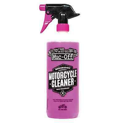 New Muc-Off Motorcycle Bike Care Maintenance Nano Tech Cleaner 1 Litre M664