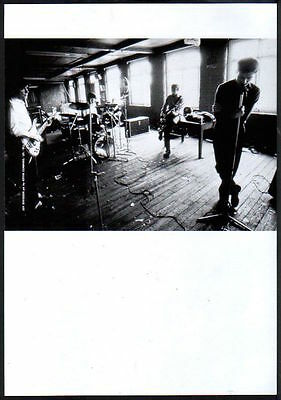 1998 Joy Division Japan mag photo pinup / mini poster clipping cutting j12r