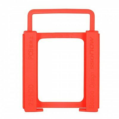 """2.5"""" to 3.5"""" SSD to HDD Screw-less Mounting Adapter Bracket Hard Drive Holder"""