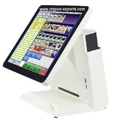 New!  All In One Restaurant Bar Retail POS System Point of Sale W/Warranty!
