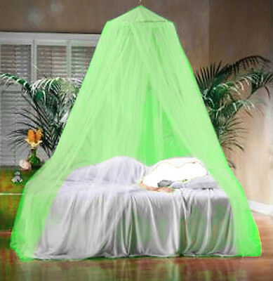 Mint Green Mosquito Canopy Insect Midge Bug Net Single Double King Size Bedding