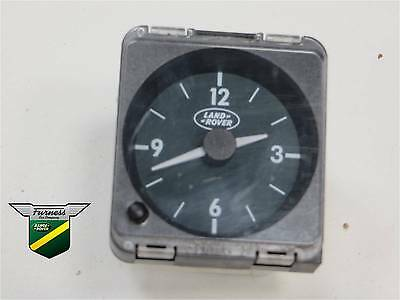 Range Rover P38 Interior Dash Clock (late type) Green Dials YFB100460