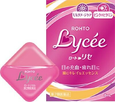 Rohto NEW Lycee Eye drops lotion 8ml