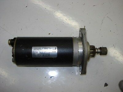 Yamaha Starter Motor 6L2-81800-20-00 fits 25hp 2 stroke 2 Cyl outboards 2006 and