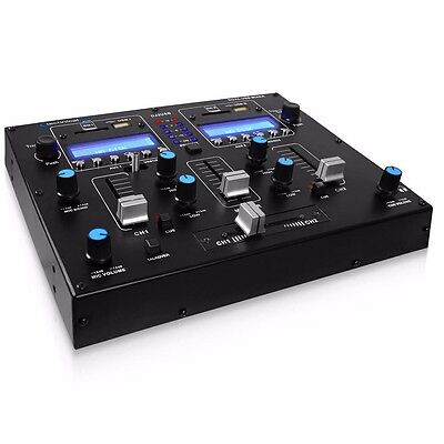 NEW TECHNICAL PRO Table Top 2ch Dual Usb/sd Card DJ2USB