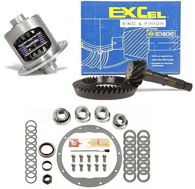 "Chevy Gm 8.5"" - 3.42 Excel Ring And Pinion - 28 Spline Posi - Timken - Gear Pkg"