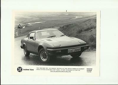 Leyland Cars Triumph Tr7 Press Photo 'brochure Related'