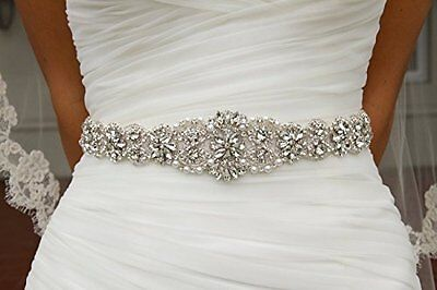 Wedding Sash Ivory ~Bridal Sash, Wedding Sash Rhinestone, Wedding Sash Belt, ...