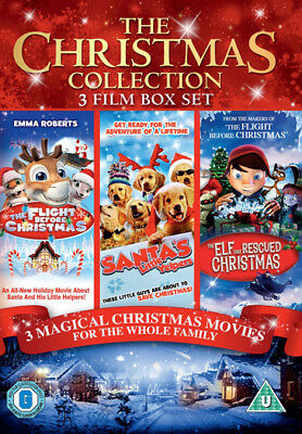 CHRISTMAS Collection 3 Film BOX SET DVD NEW Region 2