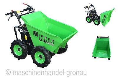 Zipper wheel dumpers ZI-RD300, Wheel loader, Mini Dumper