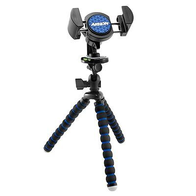 RVTRIXL: Arkon 11 inch Tripod with Phone Holder Mount for Streaming Live Video