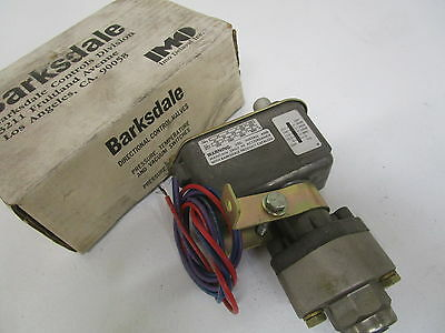 Barksdale C9612-3 Pressure Actuated Switch *new In Box*