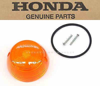 New Genuine Honda 1960s-1980s Amber Turn Signal Lens Gasket Screw SEE NOTE #K06