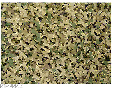 Digital Killer Camo Net Military Nylon Rip-Stop Camouflage Netting (Large) 6532