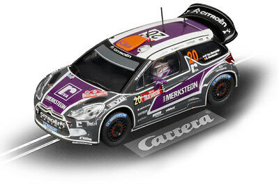 "Carrera 27408 - Evolution Citroën DS3 WRC ""Van Merksteijn, No.20"" Auto NEU"