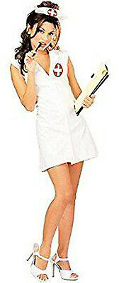 New Girls Naughty Nurse Official Facy Novelty Ladies Dress size M 10 to 14