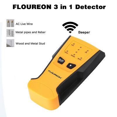 Floureon 3 in 1 metallive wire and stud detector