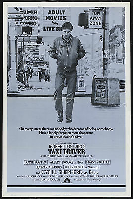 Taxi Driver Movie Poster Film A4 A3 Art Print Cinema