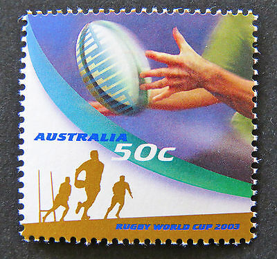 Australian Decimal Stamps: 2003 Rugby World Cup - Single MNH