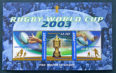 Australian Decimal Stamps: 2003 Rugby World Cup - Mini Sheet MNH