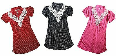 Lace Knee Lenght Top Dress