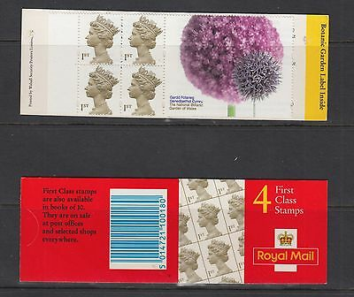 GB STAMPS  Booklet 2000  HB20  4x 1st  class Botanical Gardens