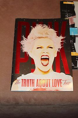 Pink ,the Truth About Love Tour Program,mint Condition,new,new