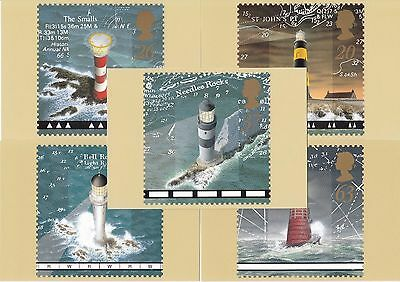 GB - Mint PHQ Cards - 1998 - Lighthouses