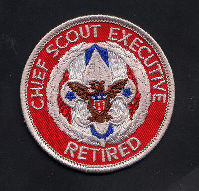 Chief Scout Executive Retired