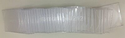 Lot of 32 Clear Slim Jewel CD DVD Disk Cases