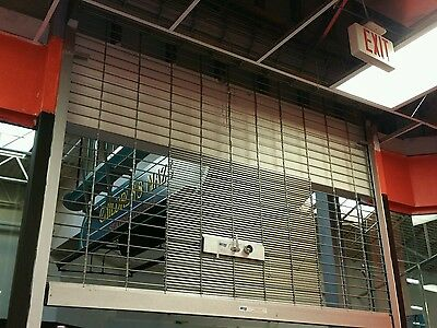 2 Metal METRO Roll-Up Store/Business Security Gates